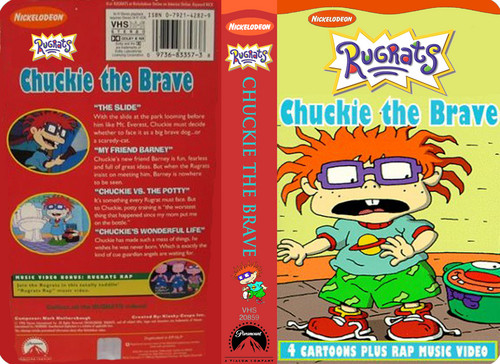 Rugrats Images Nicklodeon S Rugrats Chuckie The Brave Vhs
