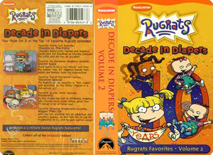 Nicklodeon's Rugrats Decade In Diapers Volume 2 VHS