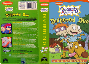 Nicklodeon's Rugrats Diapered Duo VHS