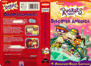 Nicklodeon's Rugrats Discover America VHS