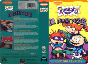 Nicklodeon's Rugrats Dr Tommy Pickes VHS