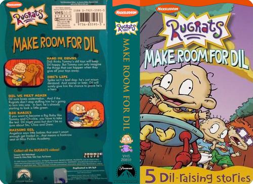 Rugrats Make Room For Dil  Vhs