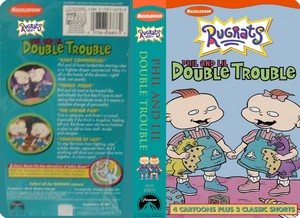 Nicklodeon's Rugrats Phil And Lil Double Trouble VHS