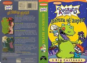 Nicklodeon's Rugrats Return To Reptar VHS