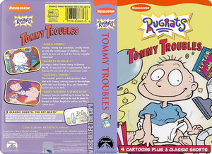 Nicklodeon's Rugrats Tommy Troubles VHS