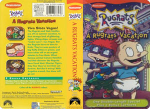 Nicklodeon's Rugrats Vacation VHS