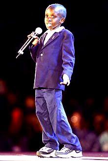 Nkosi Johnson-Xolani Nkosi ( 4 February 1989 – 1 June 2001)