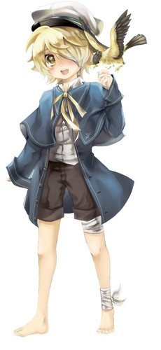 Vocaloid Oliver fond d'écran probably with a surcoat, surcot and a tabard called Oliver