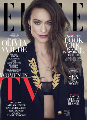 Olivia Wilde on the Cover of Elle Magazine