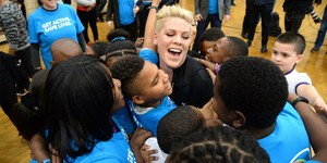 P!nk Kid Power UNICEF