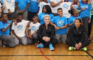 P!nk celebrates nation-wide of UNICEF Kid Power