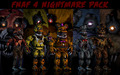 PAPAS PC fnaf 4 壁紙 pack updated によって xquietlittleartistx d93ctdc