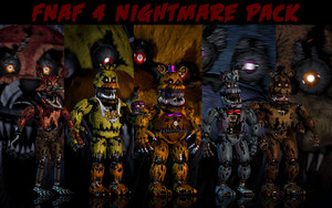 PAPAS PC fnaf 4 바탕화면 pack updated 의해 xquietlittleartistx d93ctdc