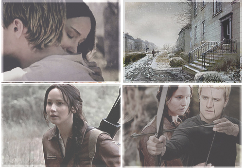 Peeta And Katniss College Fanfiction Grow Back Together