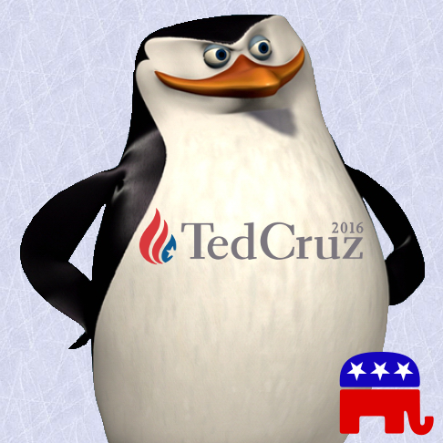 Penguins for Cruz!