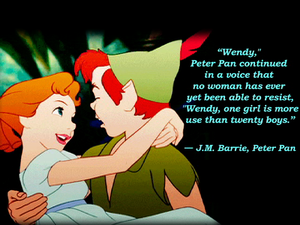 Peter Pan and Wendy Darling :)