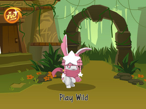 Princess The Bunny Animal jem