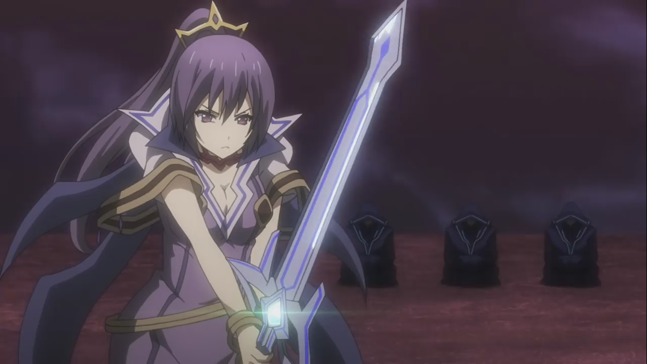 Purple-Haired Maiden from the upcoming Seisen Cerberus animê