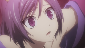 Purple-Haired Maiden from the upcoming Seisen Cerberus animé