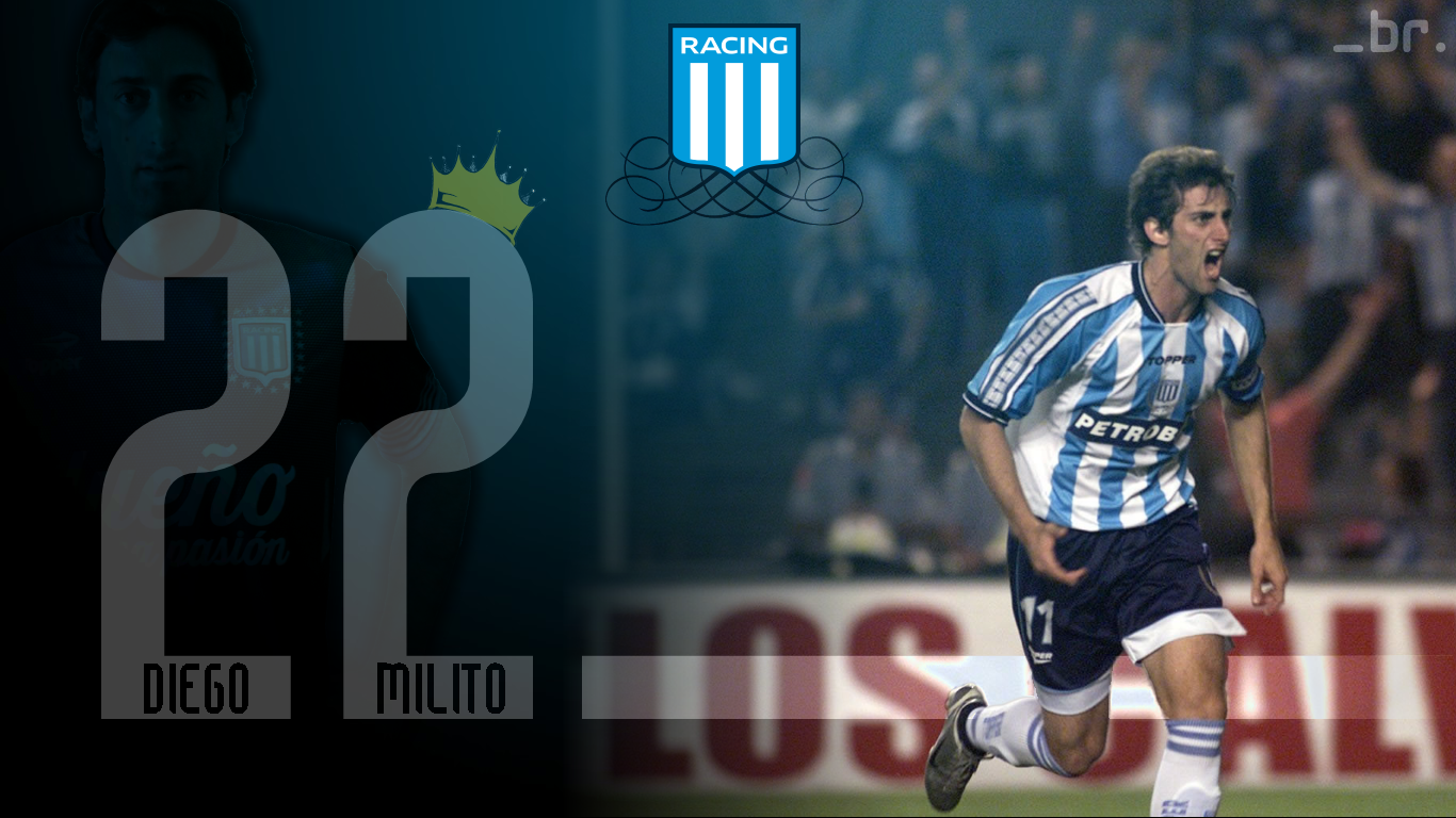 Diego Milito Images Racing Wallpaper Hd Wallpaper And Background