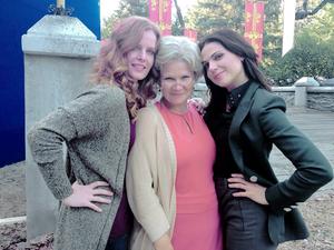 Rebecca, Beverly and Lana