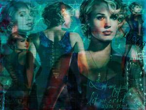 Rebecca Romijn Mystique fan art