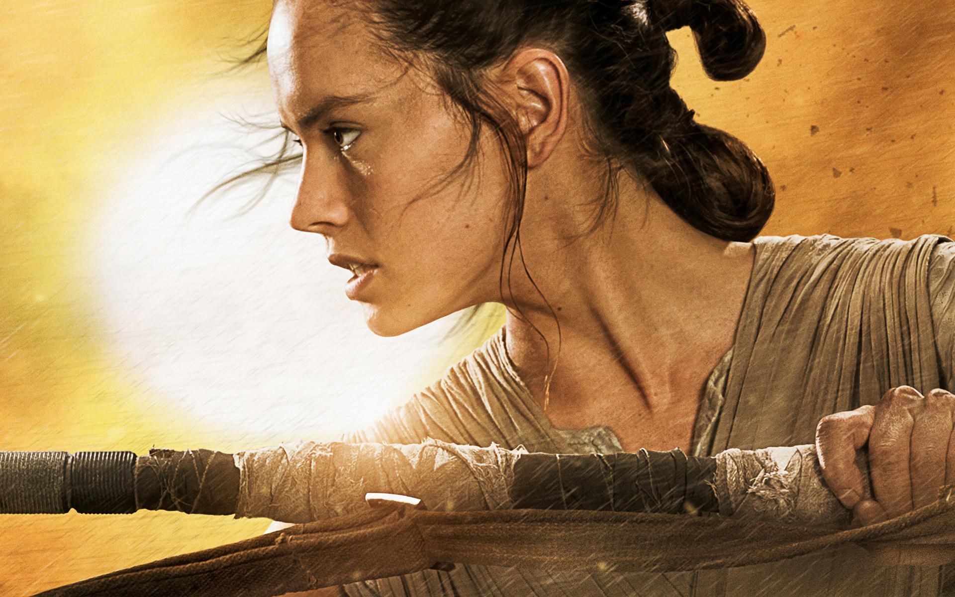 Kết quả hình ảnh cho The Force Awakens wallpaper Rey