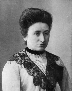 Rosa Luxemburg ( 5 March 1871 – 15 January 1919)