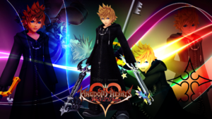Roxas wolpeyper kingdom hearts 358 2 days