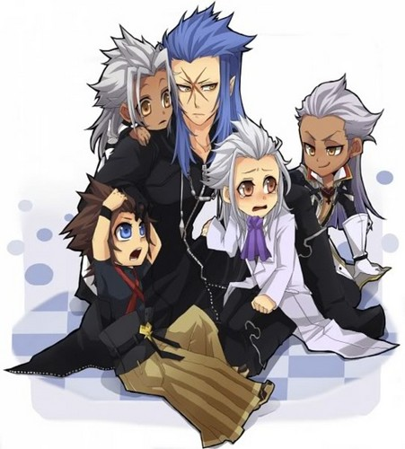 Riku114 images Saix, Xemnas, Xehanort, Terra wallpaper and background ...