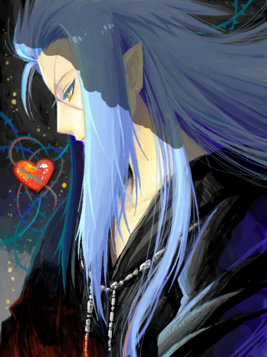 ... club tagged: photo saix organization xiii kingdom hearts riku114