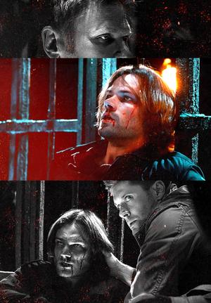 Sam,Dean and Lucifer