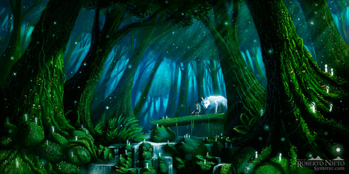 Hayao Miyazaki hình nền entitled San and Moro
