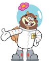 Sandy Cheeks with Hermione's Hair - spongebob-squarepants photo