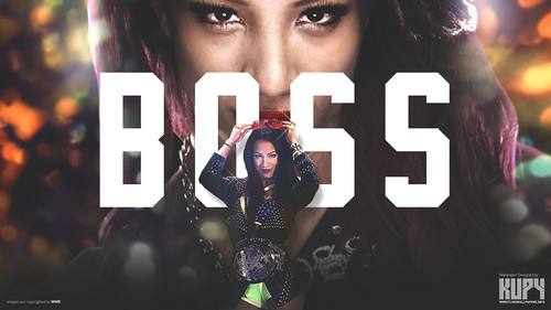 Dive WWE wallpaper possibly with a portrait titled Sasha Banks