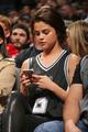 Selena Gomez, Lakers Vs Spurs - selena-gomez photo