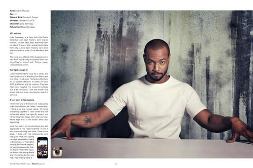 Shadowhunters TV Zeigen Hintergrund called Shadowhunters Cast for Bello Magazine