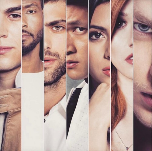 Shadowhunters TV Zeigen Hintergrund entitled Shadowhunters for Bello Magazine