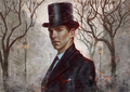 Sherlock  - benedict-cumberbatch fan art