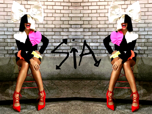 Sia wallpaper possibly containing tights titled Sia 'This Is Acting' Era