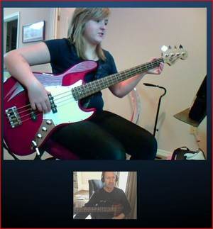 Skype бас, бас-гитара Lessons by Jeffrey Thomas