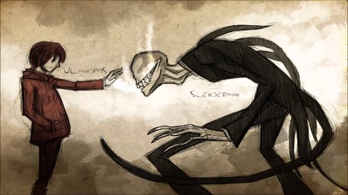 The Slender Man Wallpaper Possibly With Anime Titled Slenderman