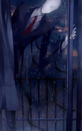The Slender Man wallpaper titled Slenderman