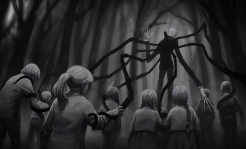 The Slender Man Wallpaper Entitled Slenderman