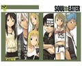 Soul eater tsubaki black star patty liz death kid maka soul wallpaper 1024x819