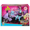 Spy Squad Motorcycle and Cat Burglar doll - barbie-movies photo