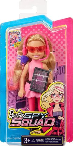 Spy Squad rosado, rosa Junior Agent Doll