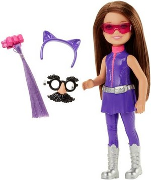 Spy Squad Purple Junior Agent Doll