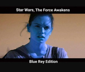 ster Wars, The Force Awakens: Blue Rey Edition