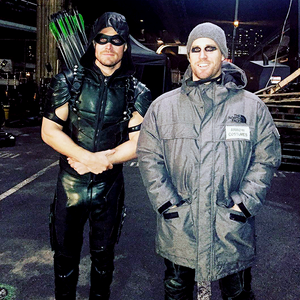 Stephen and his Stunt Double